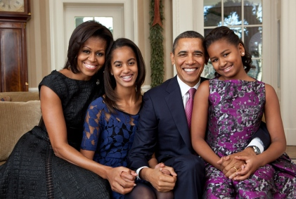 family obama Growing up in Obamas America