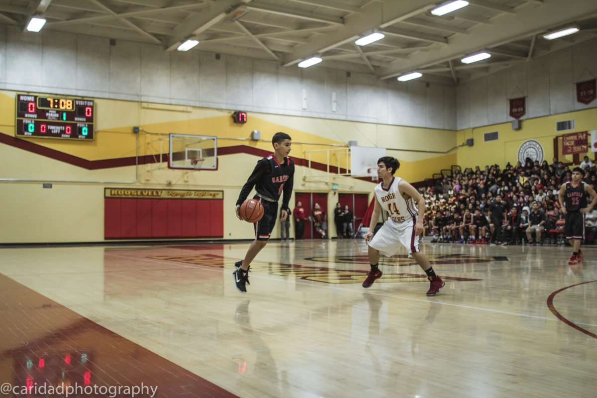 img 8537 Photos: Garfield J.V. basketball vs. Roosevelt
