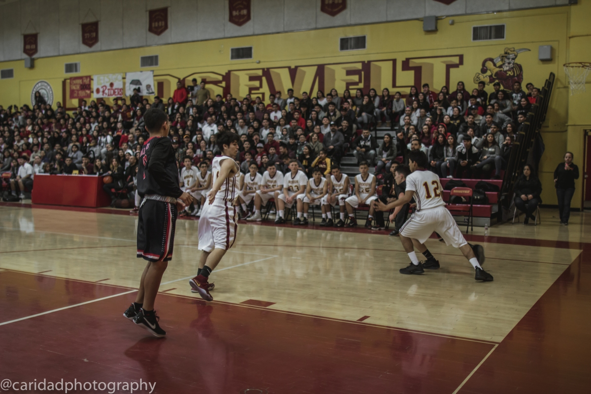 img 8551 Photos: Garfield J.V. basketball vs. Roosevelt