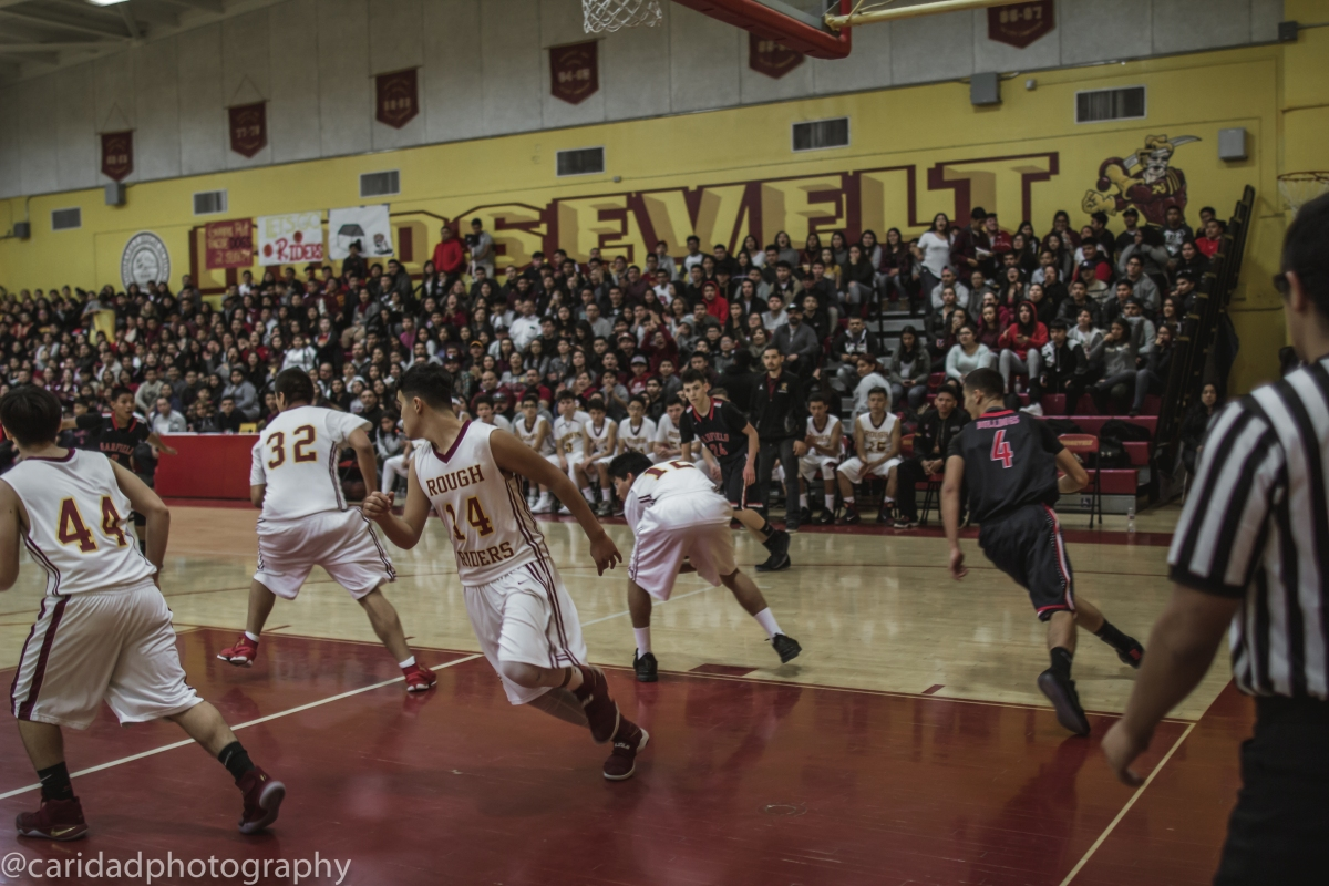 img 8568 Photos: Garfield J.V. basketball vs. Roosevelt