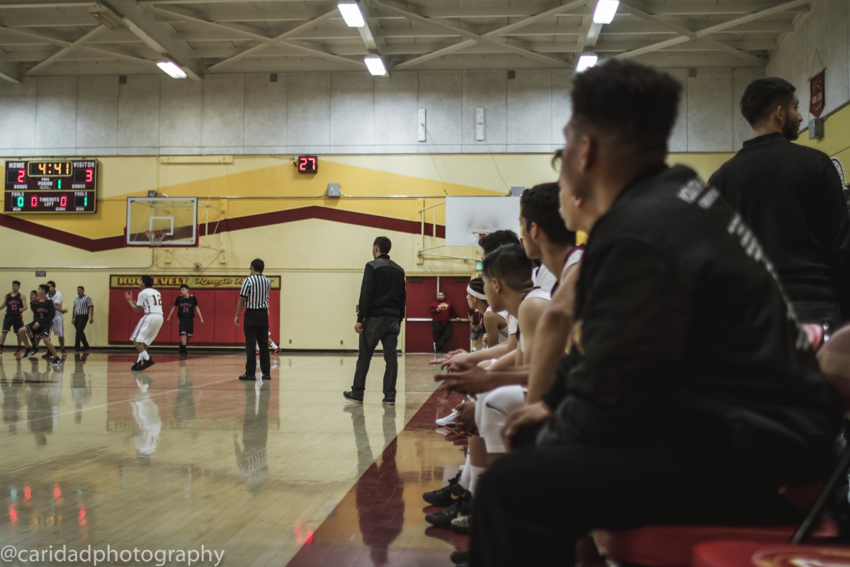img 8586 Photos: Garfield J.V. basketball vs. Roosevelt