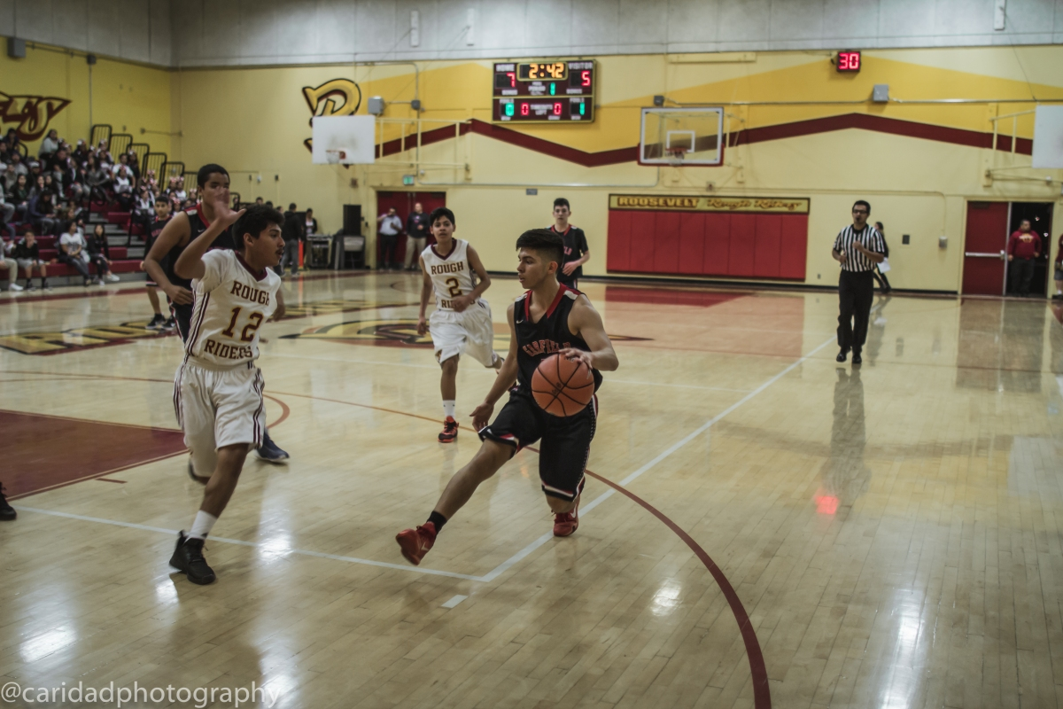 img 8630 Photos: Garfield J.V. basketball vs. Roosevelt