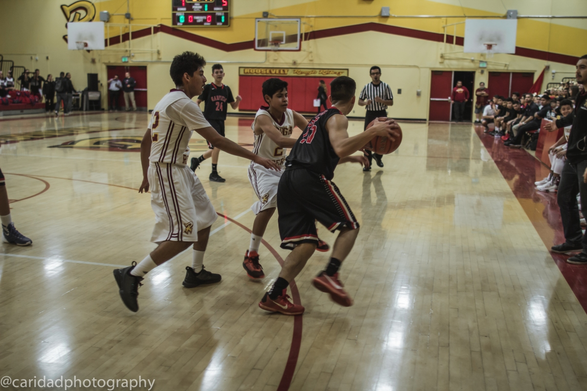img 8635 Photos: Garfield J.V. basketball vs. Roosevelt