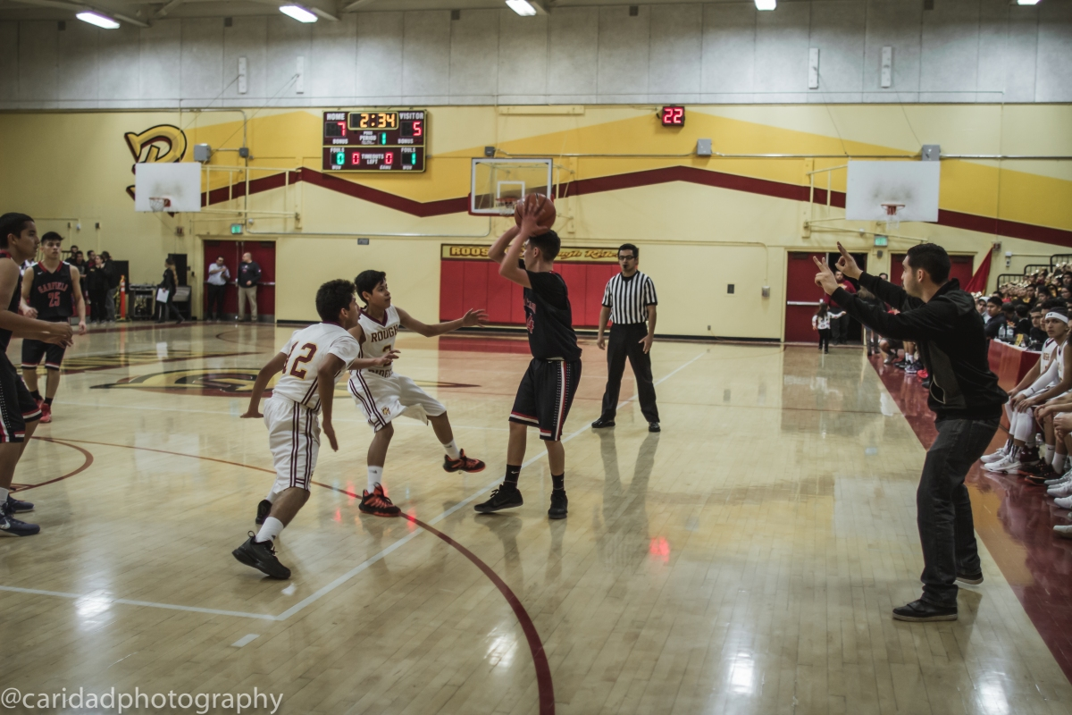 img 8636 Photos: Garfield J.V. basketball vs. Roosevelt
