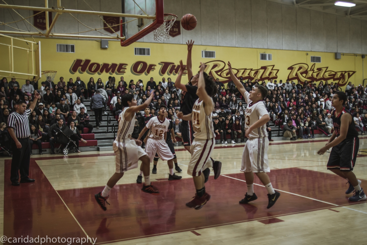 img 8646 Photos: Garfield J.V. basketball vs. Roosevelt