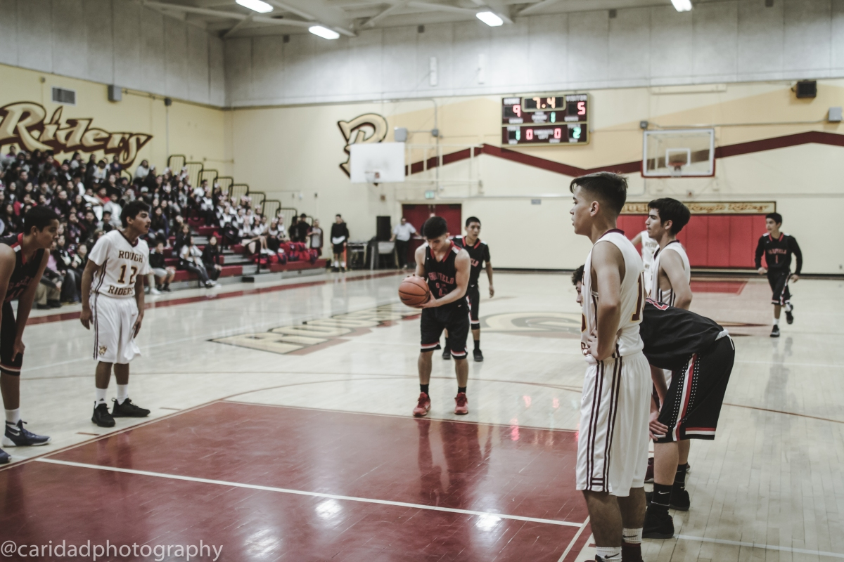 img 8674 Photos: Garfield J.V. basketball vs. Roosevelt