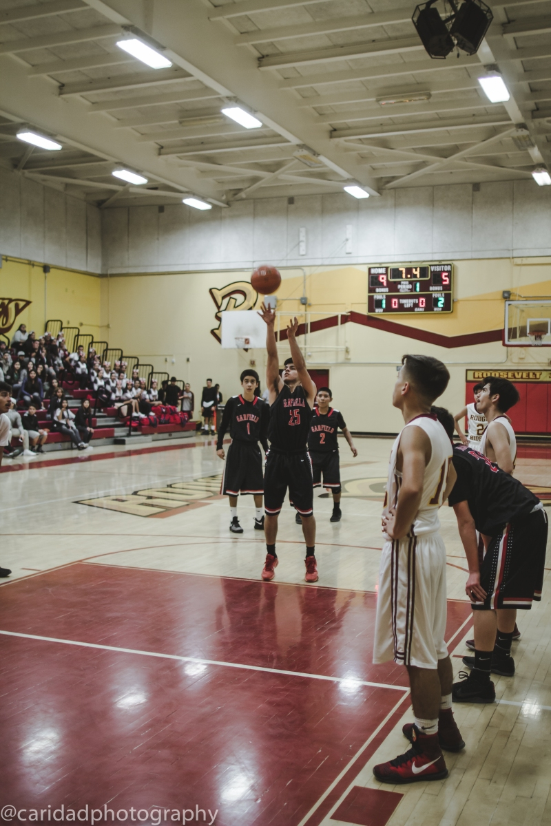 img 8676 Photos: Garfield J.V. basketball vs. Roosevelt