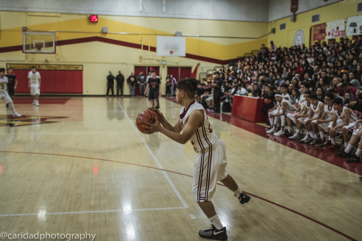 img 8764 Photos: Garfield J.V. basketball vs. Roosevelt