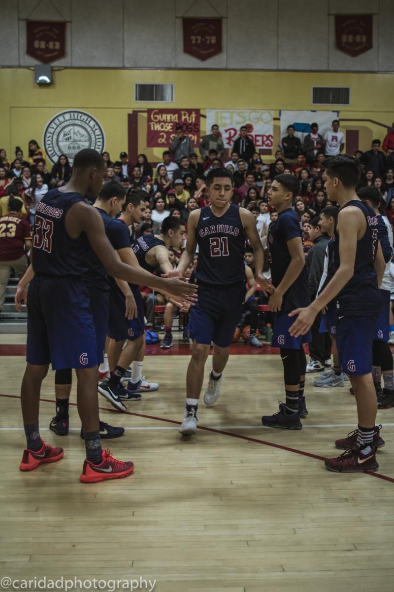 img 9175 Photos: Garfield varsity basketball vs. Roosevelt