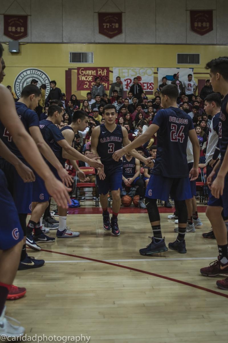 img 9178 Photos: Garfield varsity basketball vs. Roosevelt