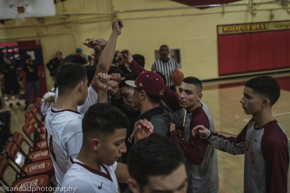 img 9340 Photos: Garfield varsity basketball vs. Roosevelt