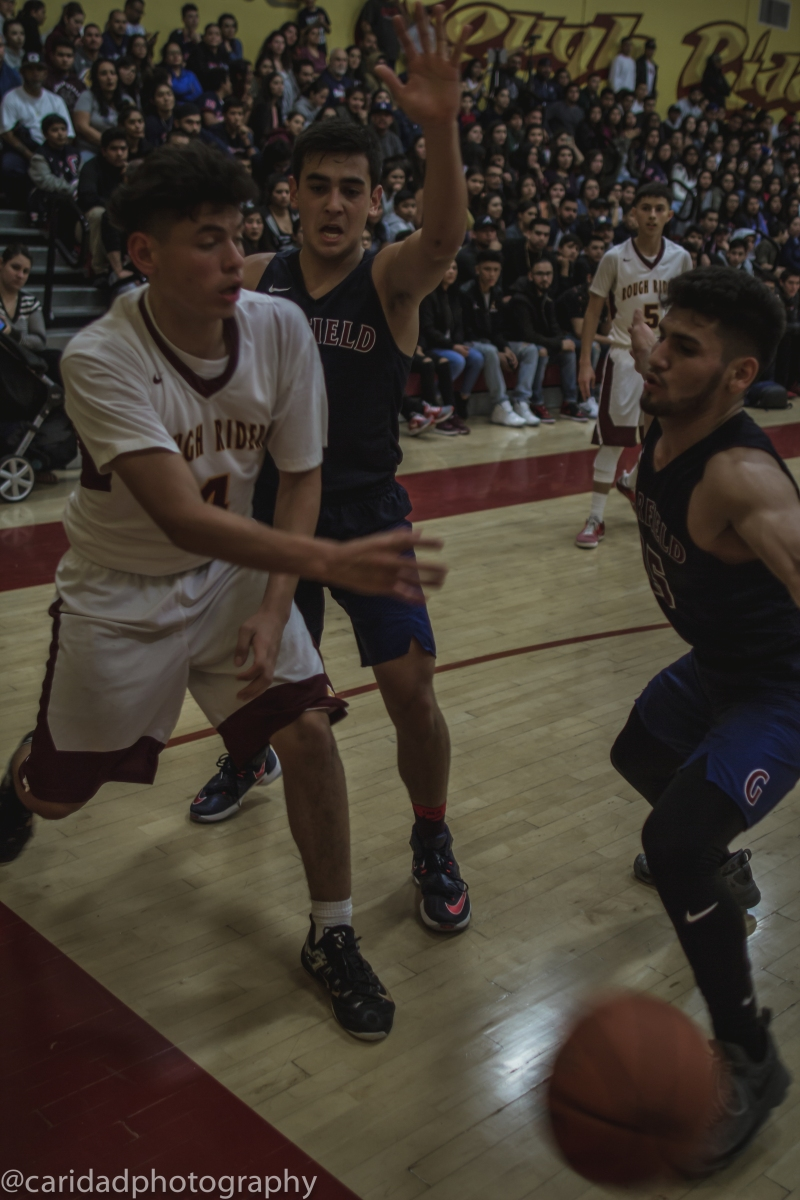 img 9517 Photos: Garfield varsity basketball vs. Roosevelt