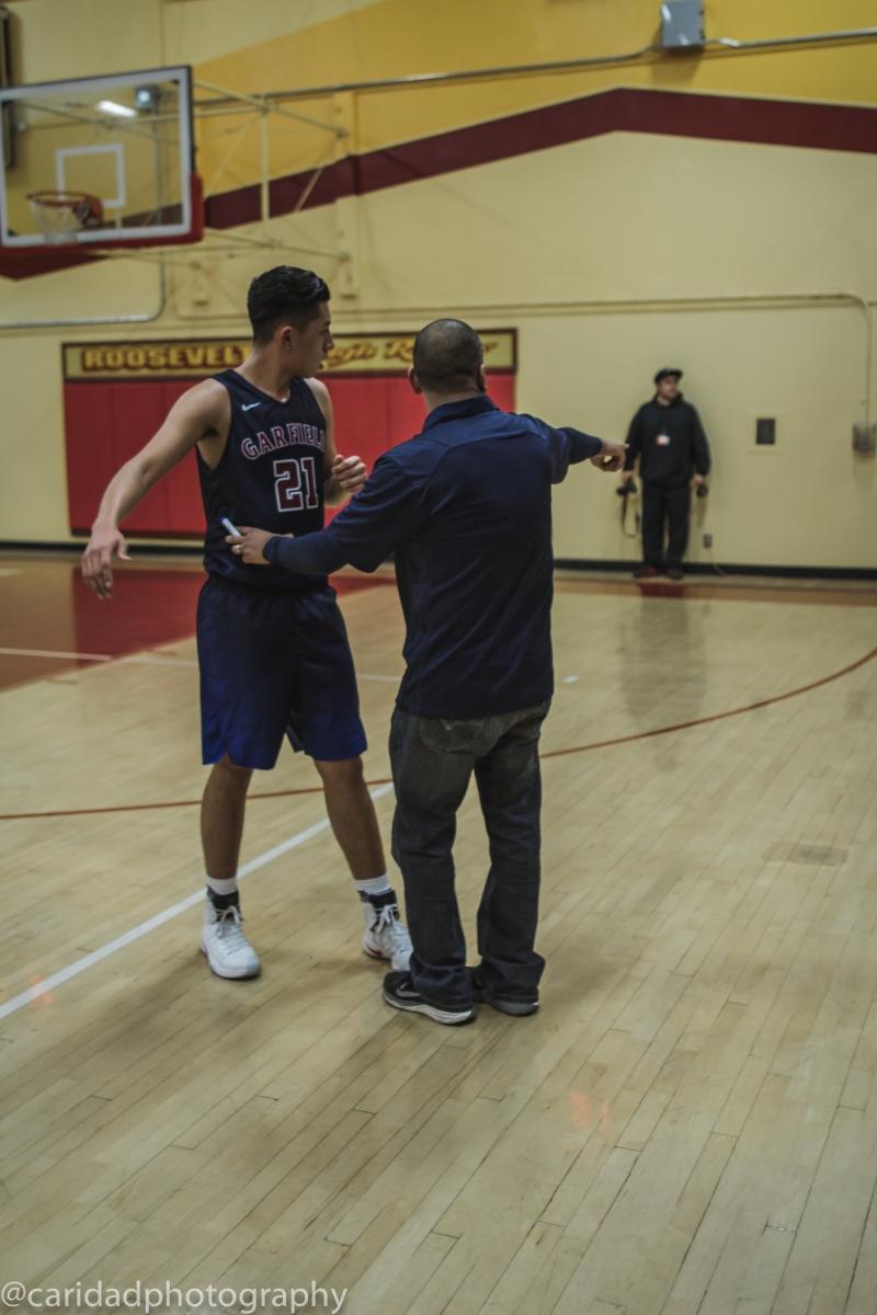 img 9690 Photos: Garfield varsity basketball vs. Roosevelt