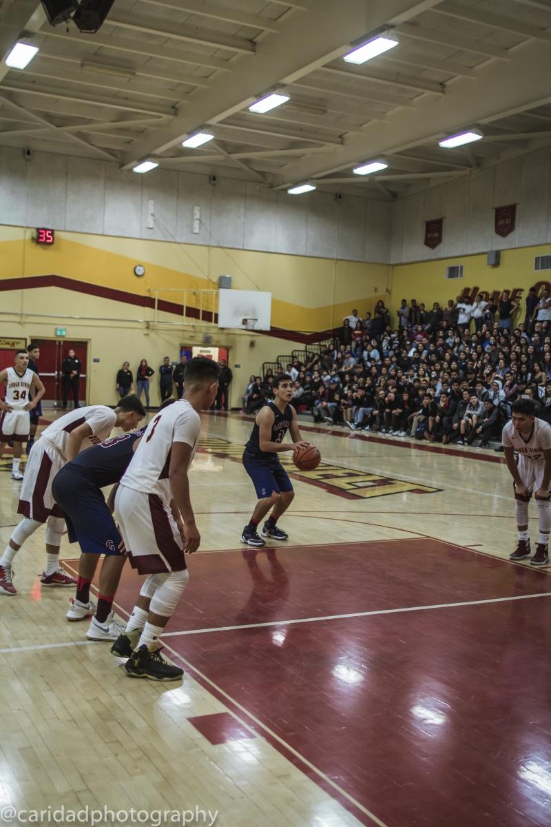 img 9847 Photos: Garfield varsity basketball vs. Roosevelt