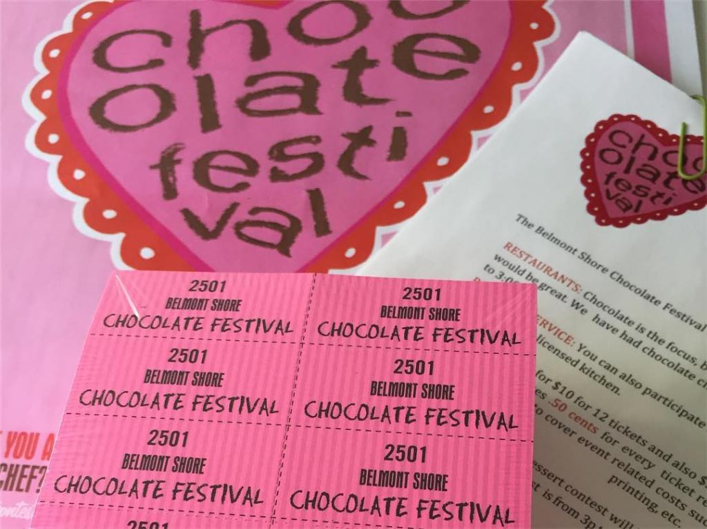 The 13th Annual Belmont Shore Chocolate Festival