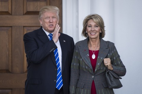 Hollywood Reacts To Betsy DeVos Confirmation As Education Secretary