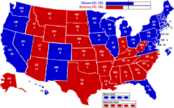2012 homepage map Strict voter laws: Protecting or prohibiting?