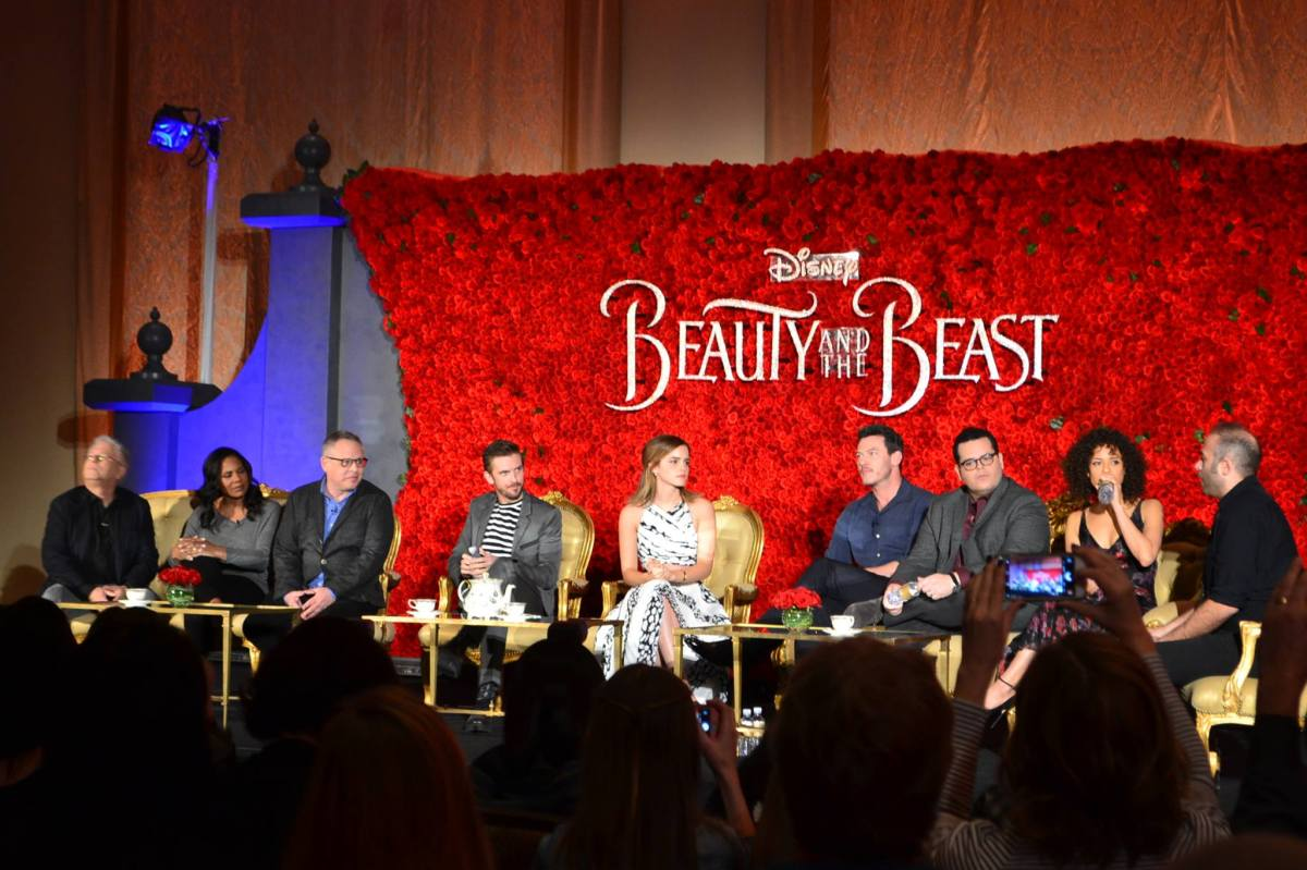 beautyandthebeast My question for Emma Watson at the Beauty and the Beast Press Junket
