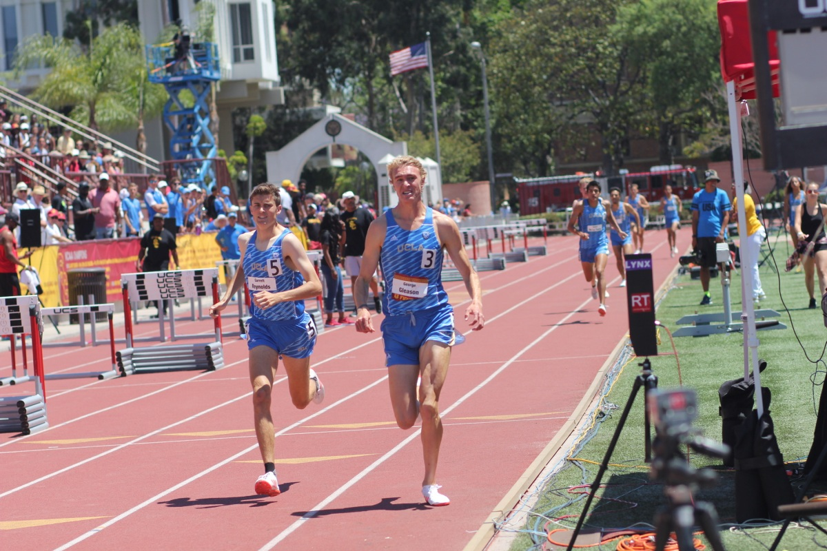 img 0893 Persistence pays: UCLA track star George Gleason