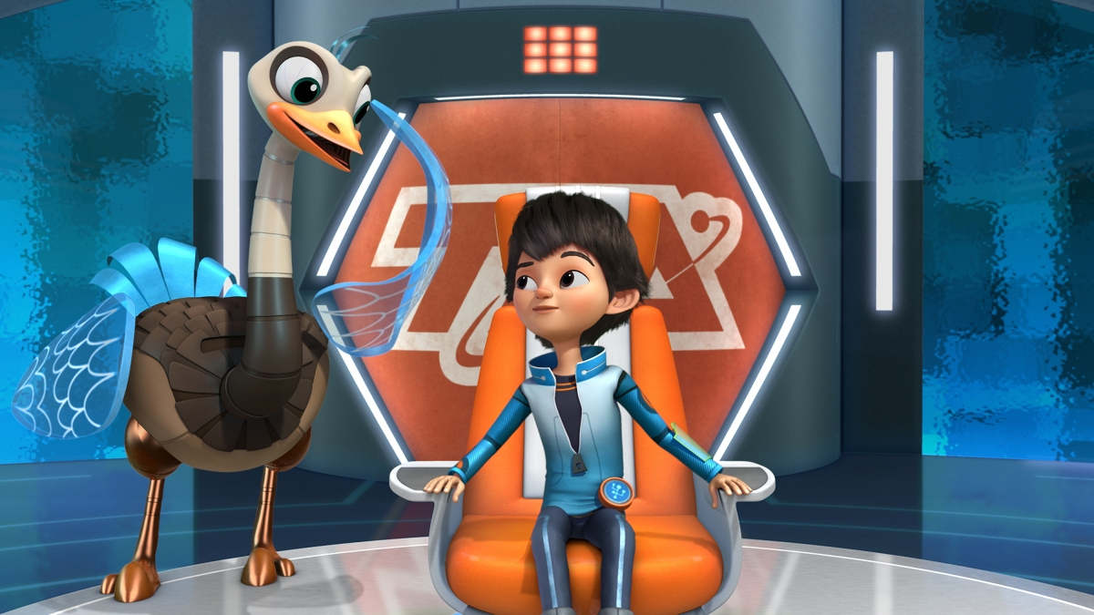 143637 04 Interview with executive producer Sascha Paladino from Miles from Tomorrowland