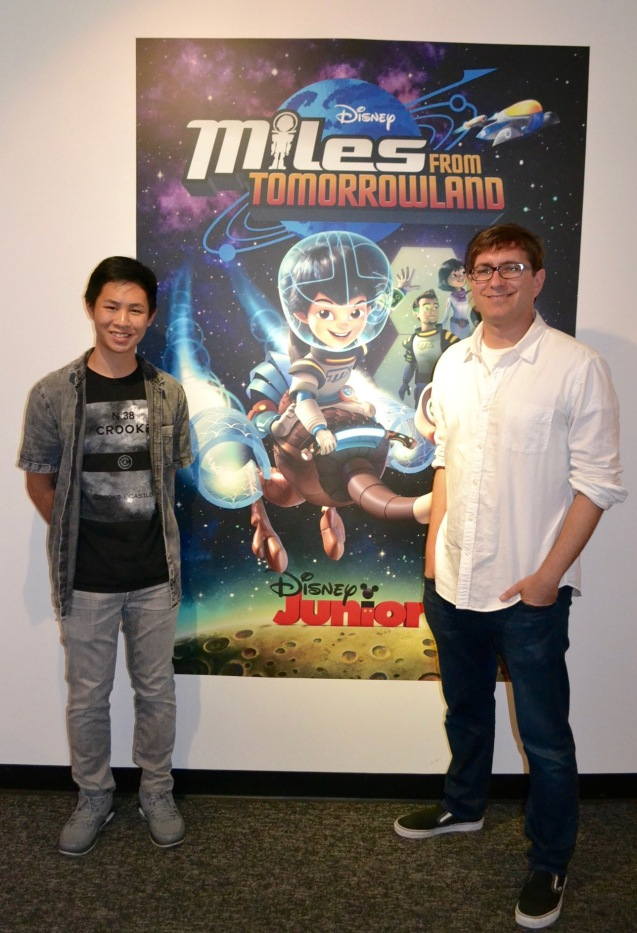 dsc 0058 Interview with executive producer Sascha Paladino from Miles from Tomorrowland