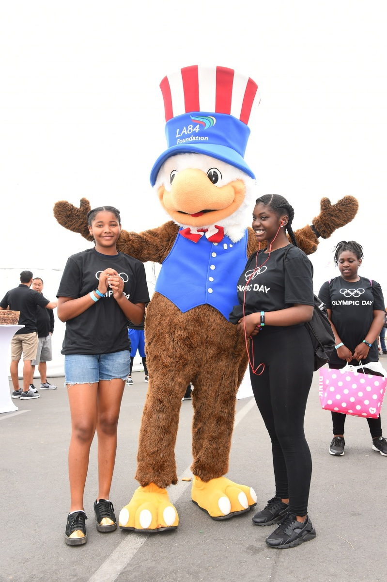 img 5429 LA84 and LA2024 provide thrilling Olympic Day experience