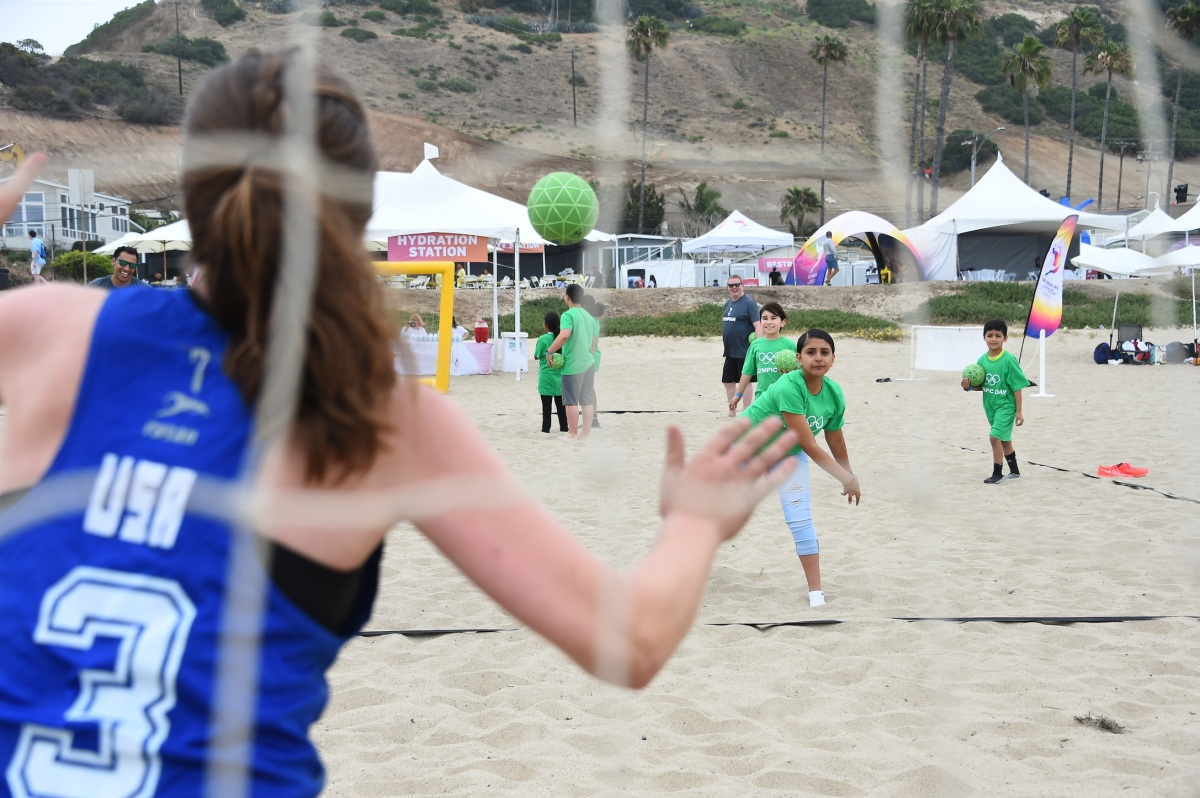 img 5430 LA84 and LA2024 provide thrilling Olympic Day experience