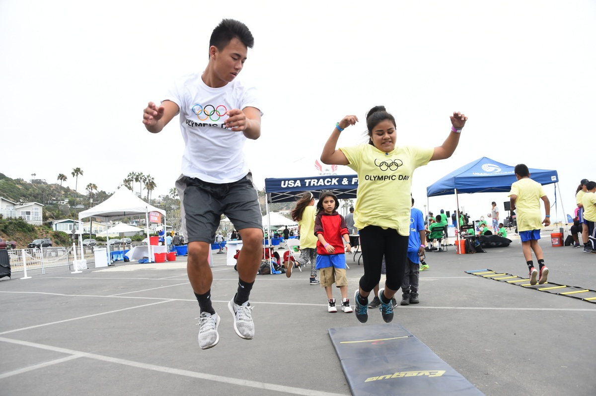 img 5434 LA84 and LA2024 provide thrilling Olympic Day experience