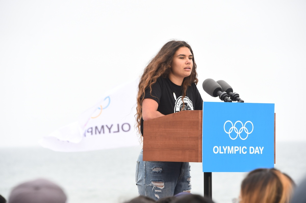 img 5436 LA84 and LA2024 provide thrilling Olympic Day experience