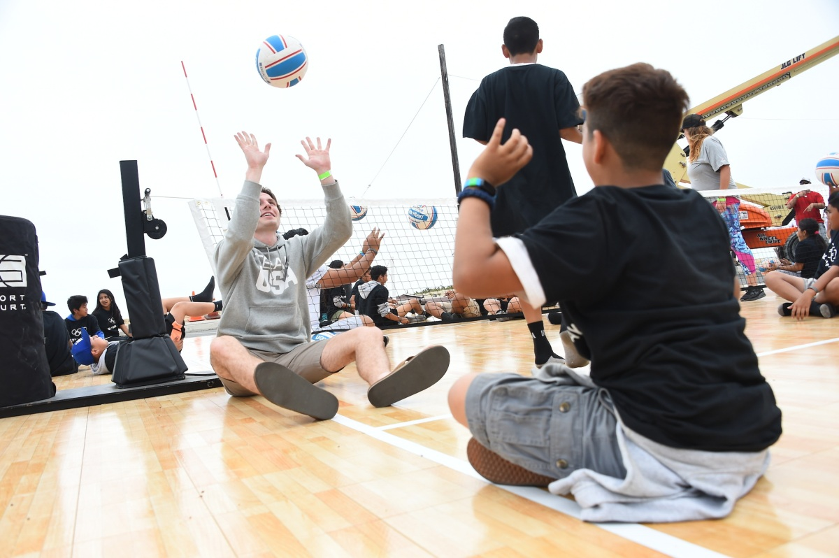 img 5437 LA84 and LA2024 provide thrilling Olympic Day experience