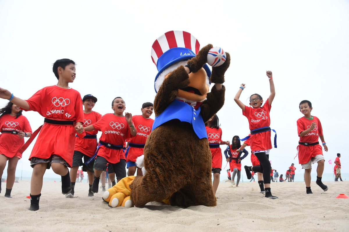 img 5438 LA84 and LA2024 provide thrilling Olympic Day experience