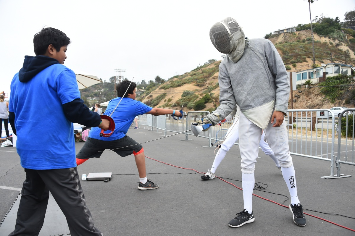 img 5439 LA84 and LA2024 provide thrilling Olympic Day experience