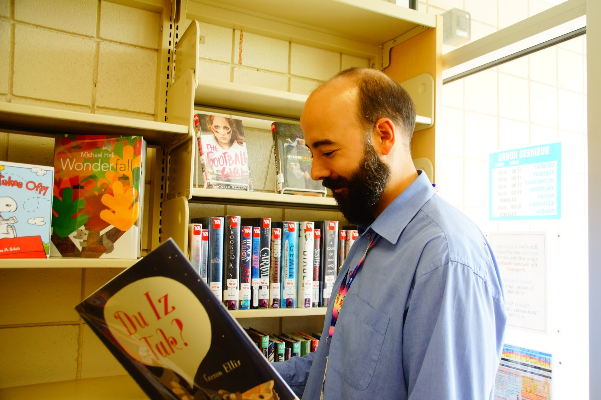 mtl 2 Unsung Heroes: Matthew Moses the librarian