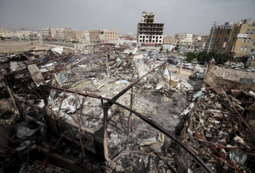 yemen wedding saudi bomb 22497322514 U.S. at potential war with Yemen due to death of thousands
