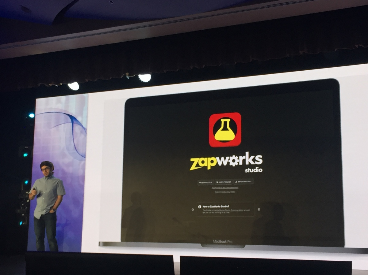 zapworks pres view Zapbox: Affordable AR for everyone