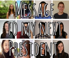 Message to my next president