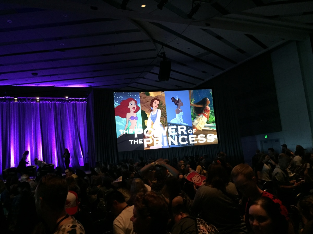 img 0539 The Power of the Princess panel, highlights from D23 Expo 2017