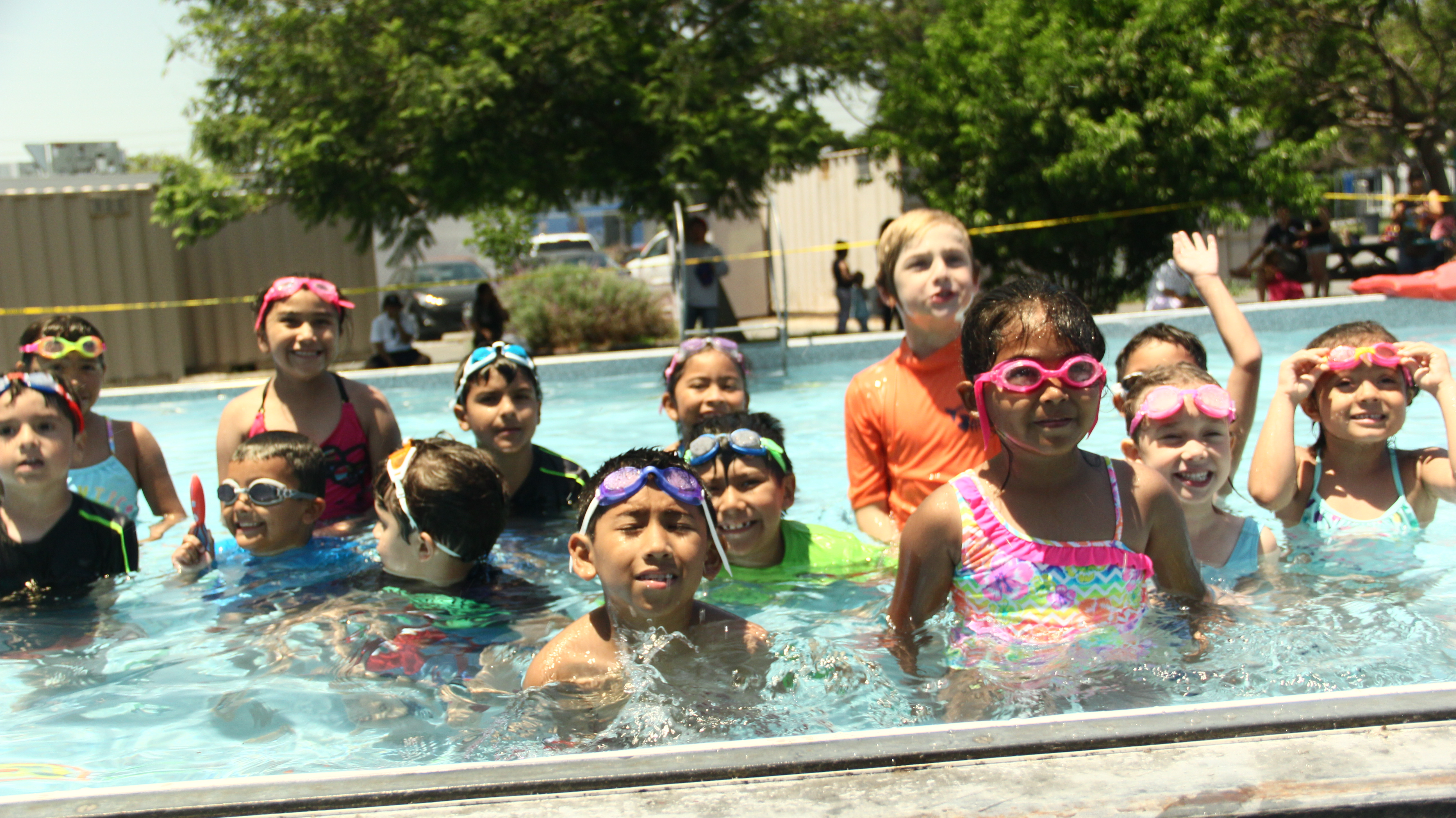 Beyond the bell offers kids free summer swimming lessons - Above ground swimming pools tyler texas ...