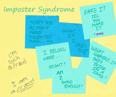 imposter syndrome Overcoming Imposter Syndrome This Year