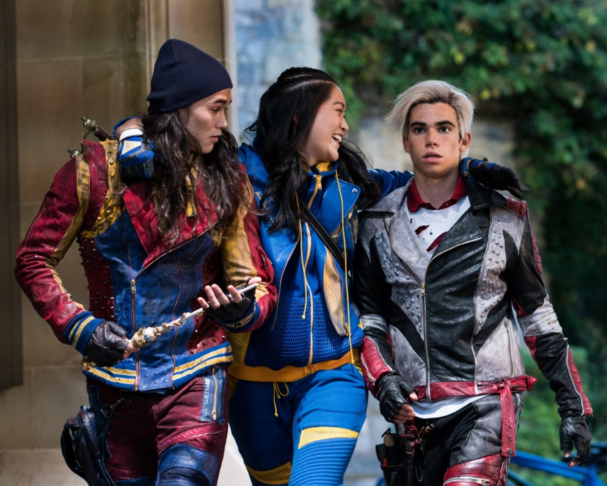 thumbnail 144578 7952 Interview with Dianne Doan and Brenna DAmico from Disneys Descendants 2