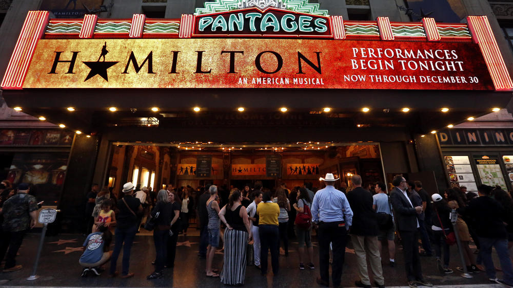 hamilton pantages theater Hamilton: The Beat that Never Stops