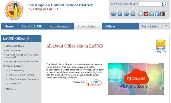 lausd email Opinion: The setback known as Schoology