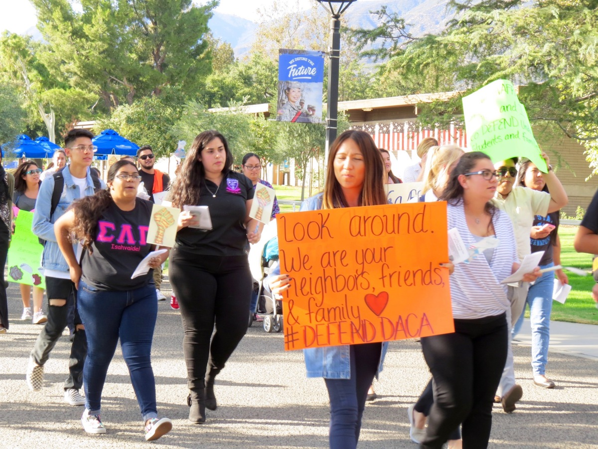 img 8183 CSUSB rallies in support for undocumented students
