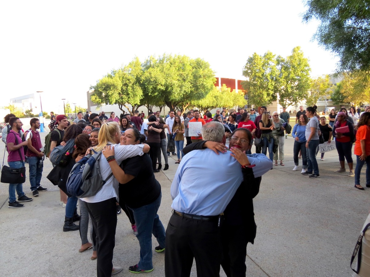 img 8303 CSUSB rallies in support for undocumented students