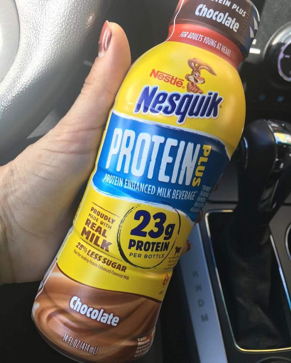 nesquik insta brilli Commentary: Healthier isn't always better: Nesquik Protein Plus milk