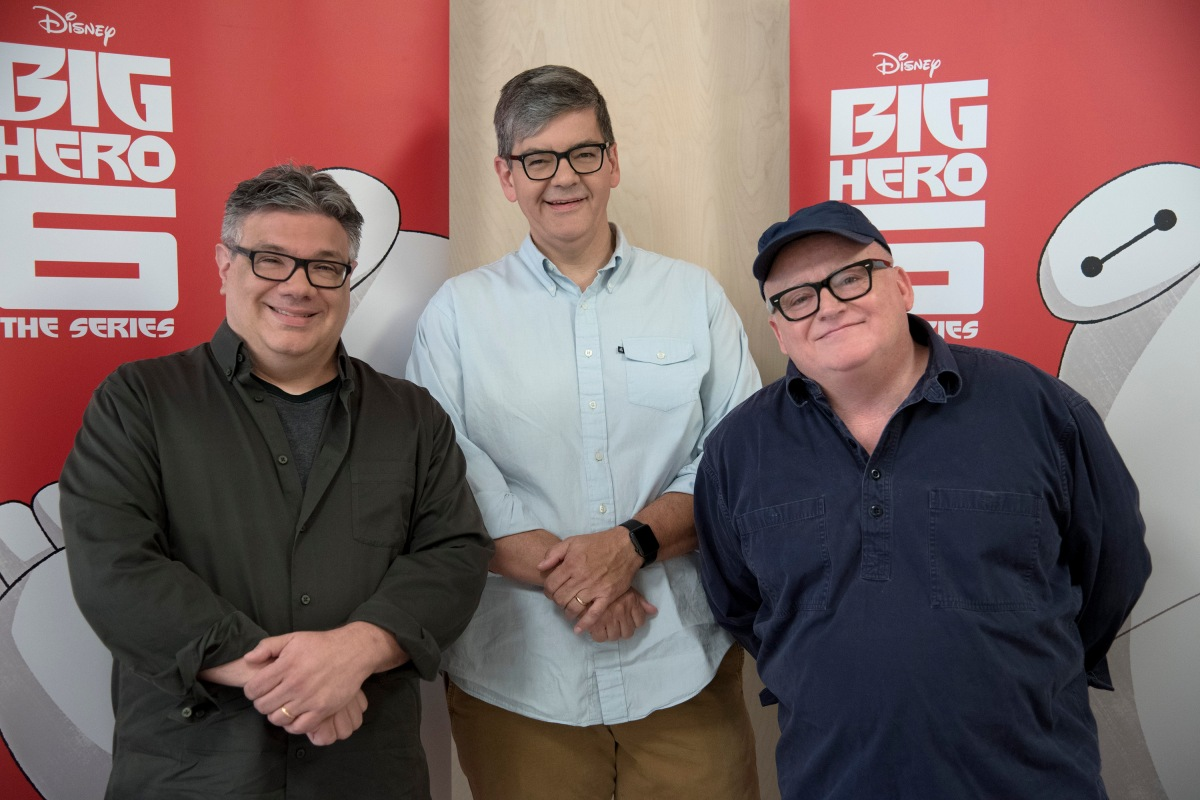 147778 4005 Big Hero 6 The Series exclusive video and Q&A with the executive producers