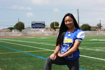 katherine ngo hs insider Katherine Ngo tackles her way onto Barons' football team