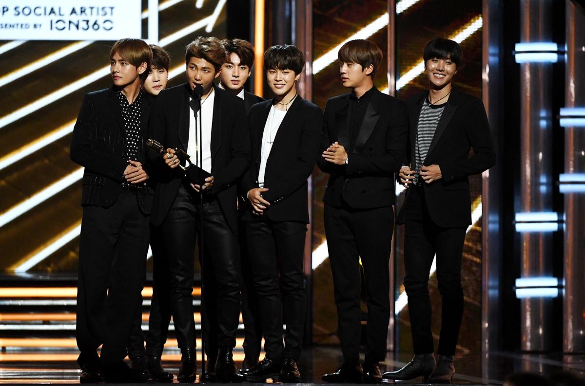 speech BTS joins the 2017 American Music Awards lineup