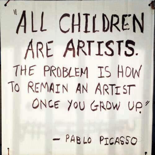 b76690d55fd5f3773966ce1a3c191f8f artist quotes pablo picasso Opinion: Are schools killing creativity?