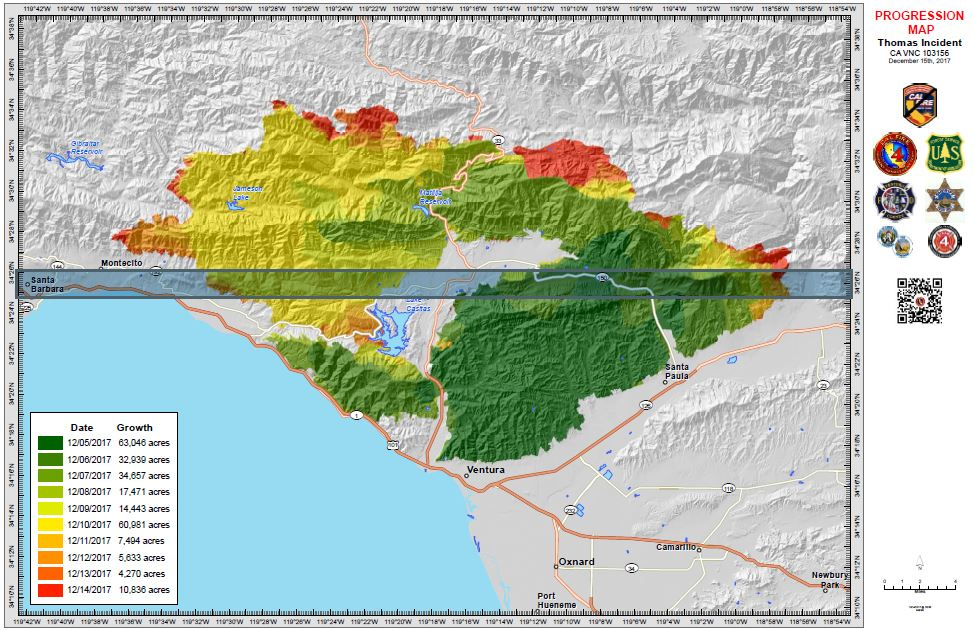 progression map Opinion: California needs the Wildfire Disaster Funding Act